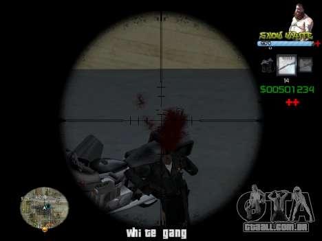 C-HUD Snow White para GTA San Andreas segunda tela