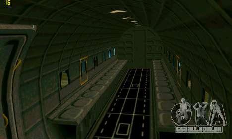 C-47 Dakota RAF para GTA San Andreas vista traseira