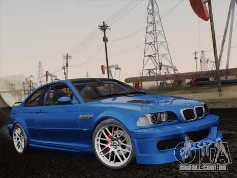 BMW M3 E46 GTR 2005 para GTA San Andreas