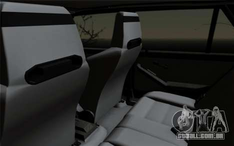 Lancia Delta HF Integrale Evo2 para vista lateral GTA San Andreas