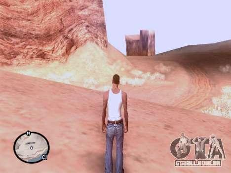 O novo mapa em HD para GTA San Andreas terceira tela