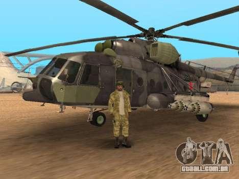 Pak exército russo serviço para GTA San Andreas décima primeira imagem de tela