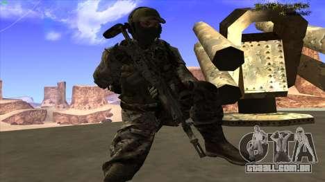 U.S. Navy Seal para GTA San Andreas oitavo tela