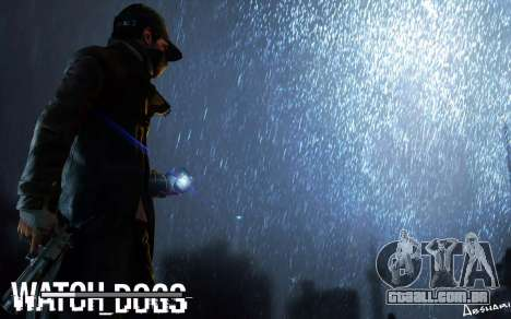Arranque telas e menus de Watch Dogs para GTA San Andreas quinto tela