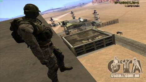 U.S. Navy Seal para GTA San Andreas terceira tela