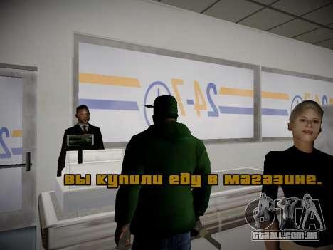 Journey mod by andre500 para GTA San Andreas por diante tela