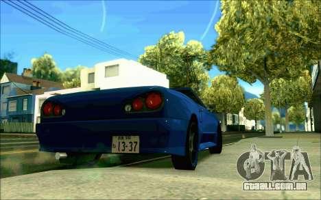 Elegia Tóquio Conversível para GTA San Andreas esquerda vista