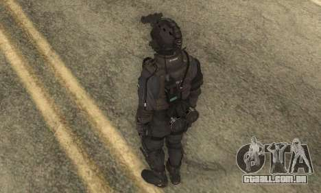 Personalizado из CoD:Ghost para GTA San Andreas terceira tela