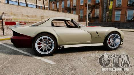 Bravado Banshee GT3 para GTA 4 esquerda vista