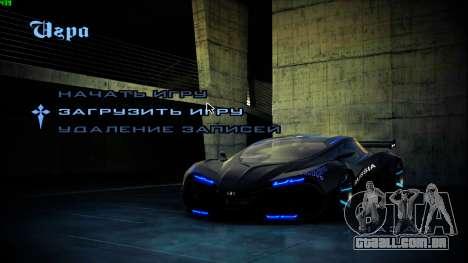 Novas telas de inicialização para GTA San Andreas segunda tela