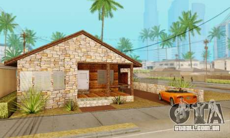 Nova casa do big Smoke para GTA San Andreas segunda tela