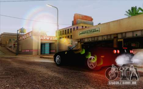 IMFX Lensflare v2 para GTA San Andreas terceira tela