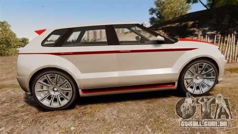 GTA V Enus Huntley S para GTA 4 esquerda vista