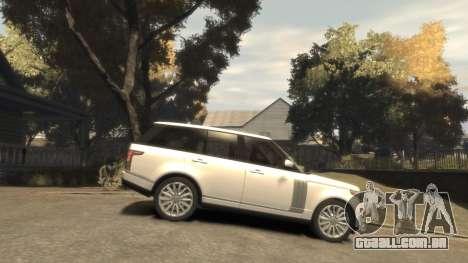 Range Rover Vogue 2014 para GTA 4 vista interior