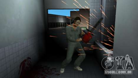 Motosserra Taiga para GTA Vice City
