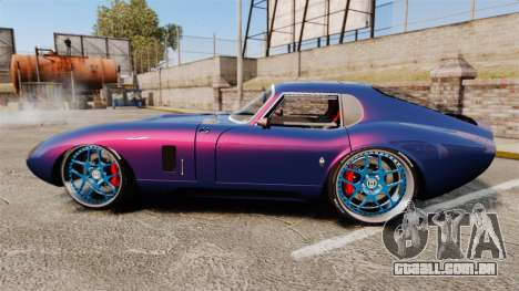 Shelby Cobra Daytona Coupe para GTA 4 esquerda vista