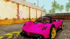 Pagani Zonda Type R Pink