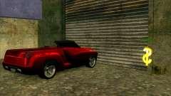 Serviço de carro do centro da Sijia em Las Venturas para GTA San Andreas