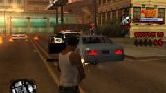 C-HUD Admins Team para GTA San Andreas
