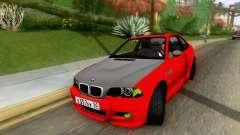 BMW M3 E46 coupe para GTA San Andreas
