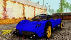 Pagani Zonda Type R Blue