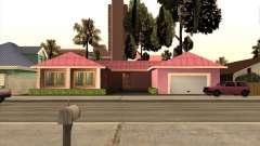 Casa nova Mili para GTA San Andreas