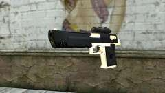 Golden Desert Eagle