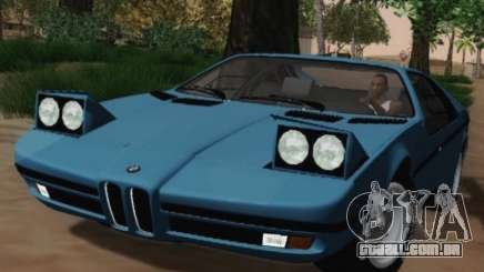 BMW M1 Turbo 1972 para GTA San Andreas