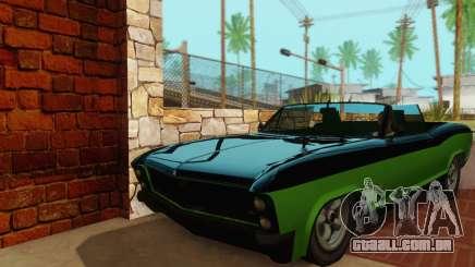 Gta 5 Buccaneer atualizado para GTA San Andreas