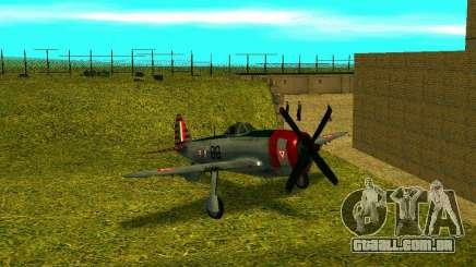 P-47 Thunderbolt para GTA San Andreas