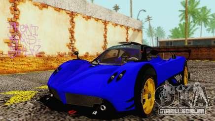 Pagani Zonda Type R Blue para GTA San Andreas