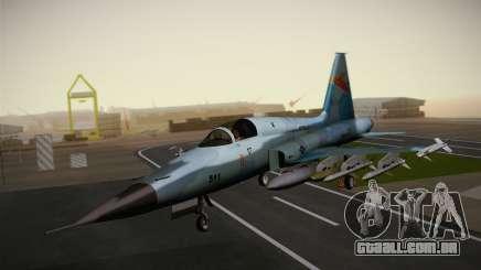 F-5E Tiger II para GTA San Andreas
