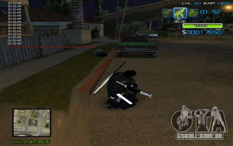 C-HUD by nayshnik para GTA San Andreas