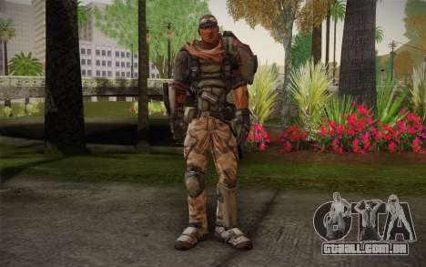 Roland из Borderlands 2 para GTA San Andreas