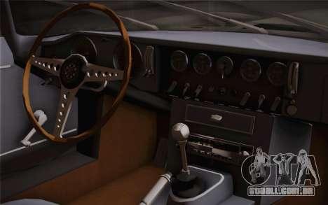 Jaguar E-Type 4.2 para GTA San Andreas vista direita