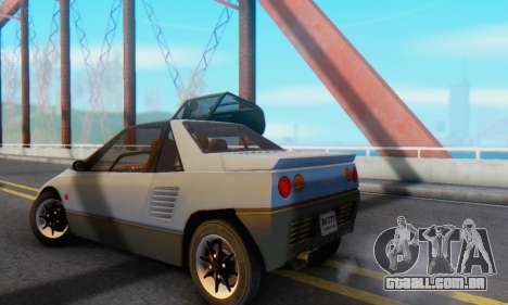 Mazda Autozam AZ-1 para GTA San Andreas vista direita