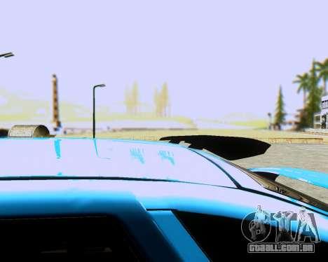 VAZ 2112 Tuneable para GTA San Andreas traseira esquerda vista