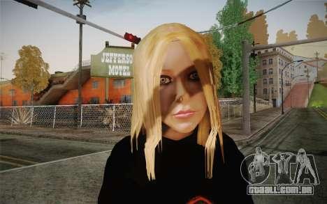 Avril Lavigne para GTA San Andreas terceira tela