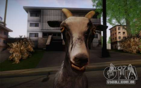 Cabra para GTA San Andreas terceira tela