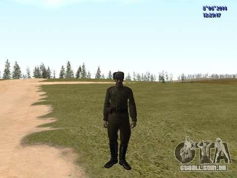 USSR Soldier Pack para GTA San Andreas por diante tela