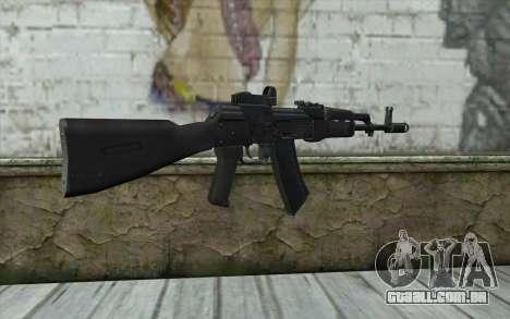 AK74M para GTA San Andreas segunda tela