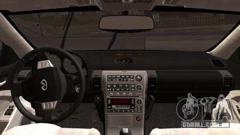 Infiniti G35 Coupe (V35) 2003 para GTA San Andreas vista direita