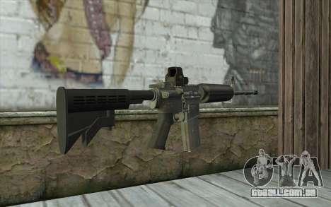 M4A1 Holosight para GTA San Andreas segunda tela
