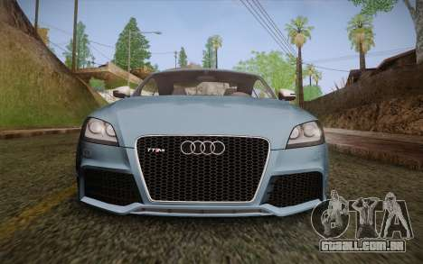 Audi TT RS 2011 para vista lateral GTA San Andreas