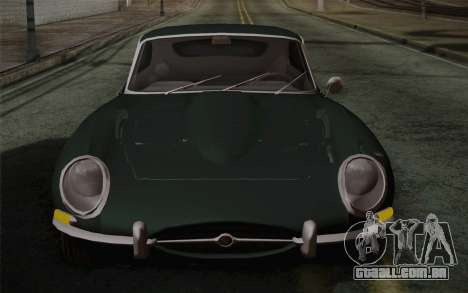 Jaguar E-Type 4.2 para GTA San Andreas vista inferior