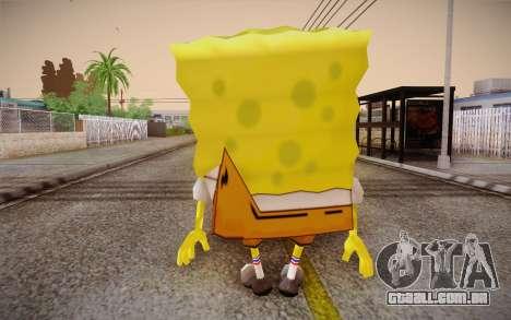 Bob Esponja para GTA San Andreas segunda tela