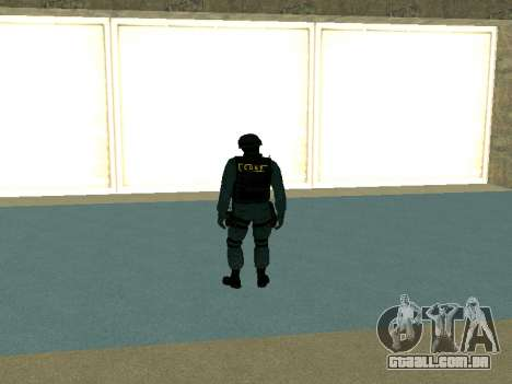 Pele SOBR para GTA San Andreas segunda tela