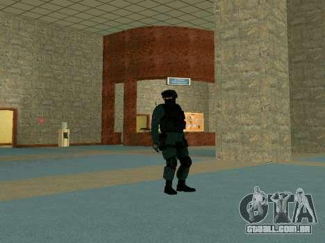 Pele SOBR para GTA San Andreas