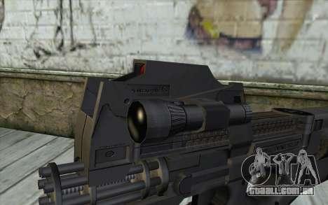 FN P90 MkII para GTA San Andreas terceira tela