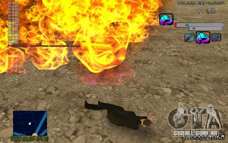 C-HUD Color para GTA San Andreas segunda tela